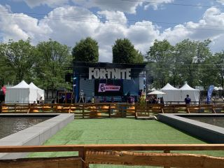 Fortnite World Cup Fan Festival Stage
