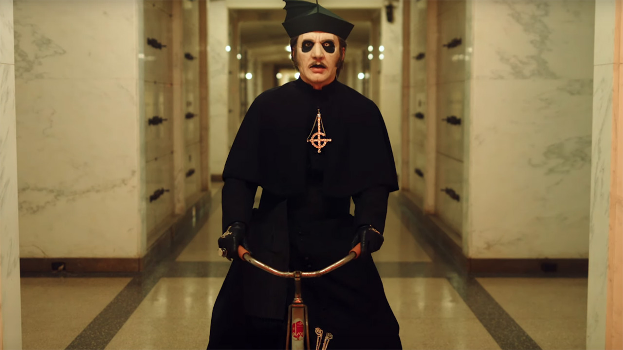 Ghost take inspiration from Stanley Kubrick's The Shining in freaky new video | Louder