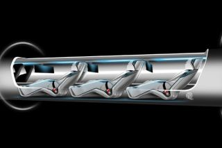 Hyperloop Passenger Capsule