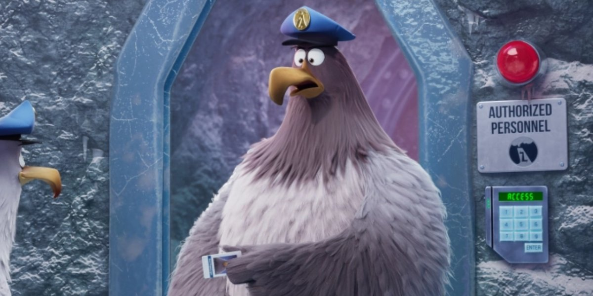 Pete Davidson in The Angry Birds Movie 2