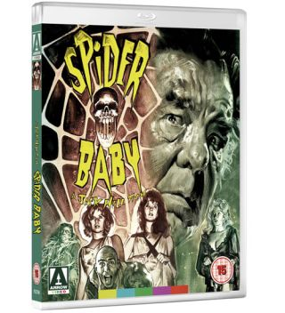 Spider Baby Arrow Films Cover