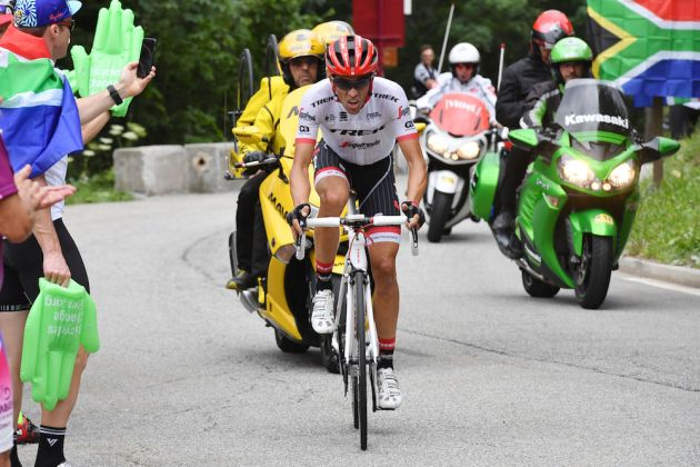 Tour de France: Chris Froome concedes just four seconds after stage 18