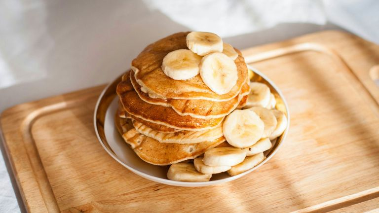 no flour baking: vegan pancakes