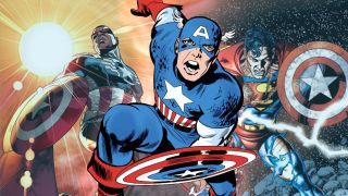 Some famous and surprising characters have found themselves with Captain America's iconic shield on their arm