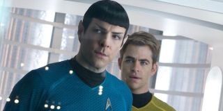 Spock and Kirk in Star Trek Into Darkness