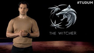 Henry Cavill at the Netflix TUDUM stream where we learned that The Witcher season 3 is official