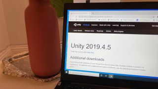 how to download Unity