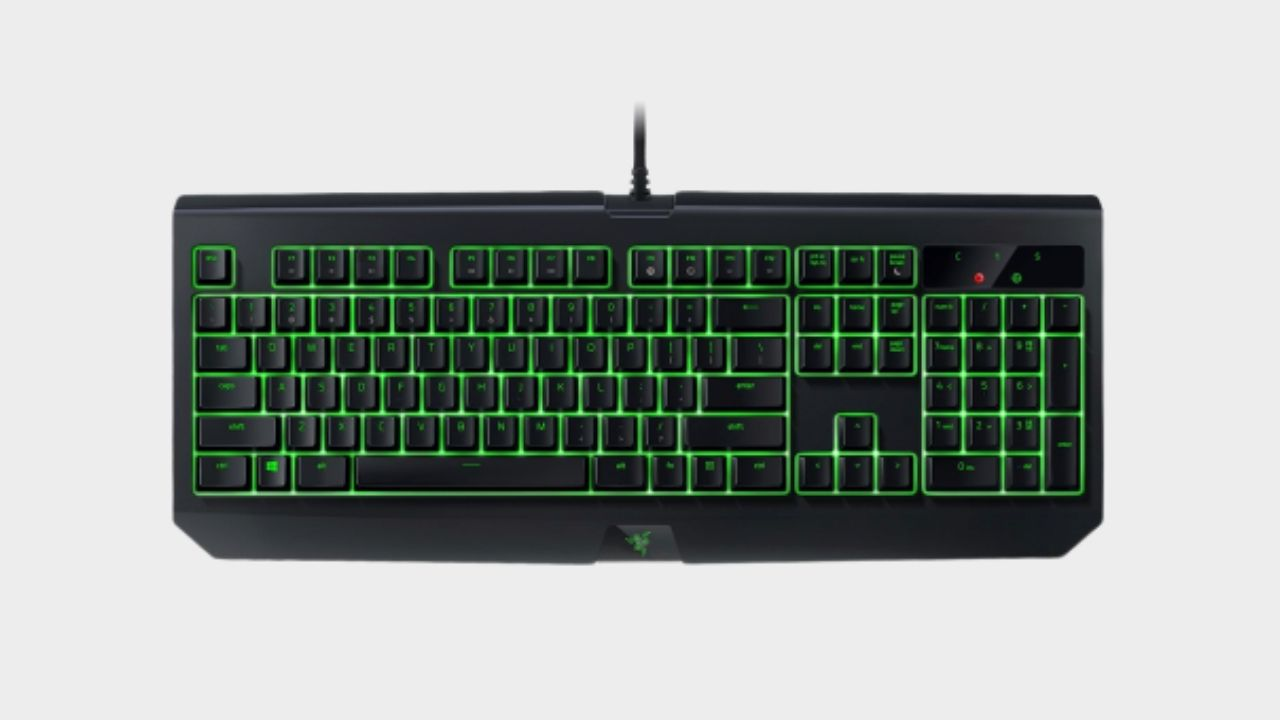 The Razer BlackWidow Ultimate keyboard is over half-price today