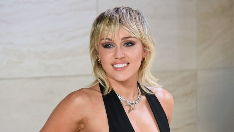 Singer Miley Cyrus attends the Tom Ford AW20 Show at Milk Studios on February 07, 2020 in Hollywood, California.