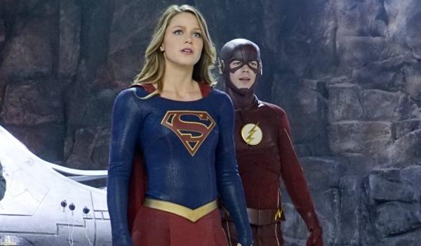 supergirl the flash kara danvers barry allen
