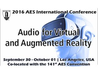 AES to Hold First International Conference on Audio for VR