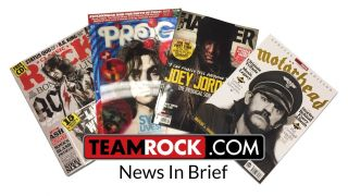 The TeamRock News In Brief logo