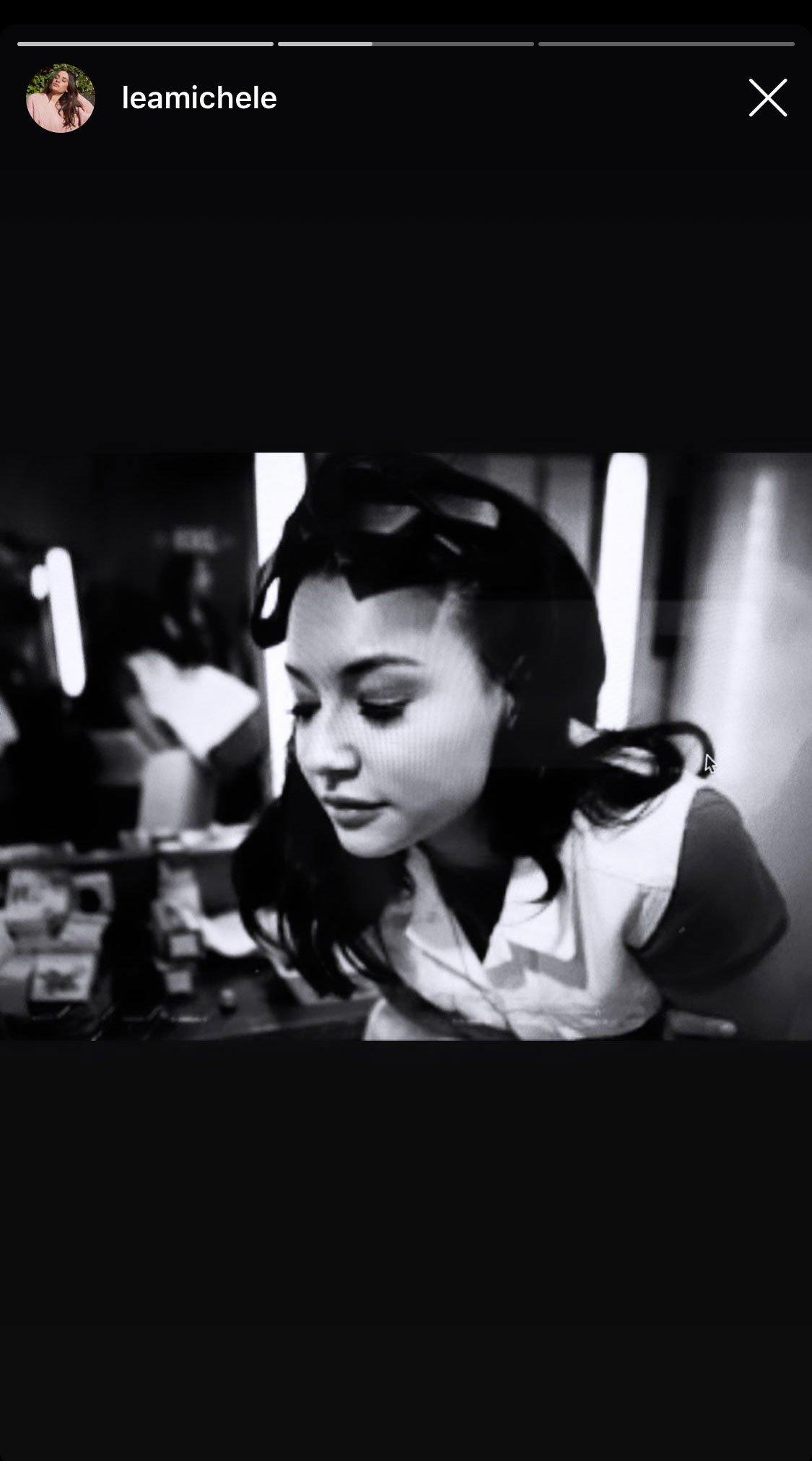 Naya Rivera tribute screenshot
