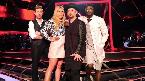 The Voice 2015 judges - Ricky Wilson, Paloma Faith, Boy George and Will.i.am