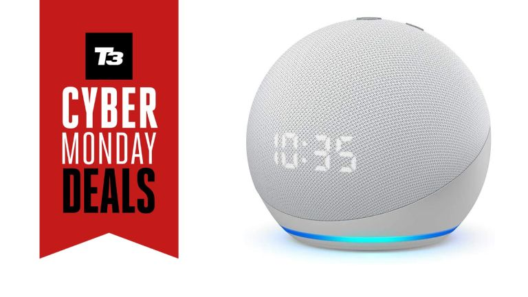 Amazon Echo Dot with Clock Cyber Monday deals
