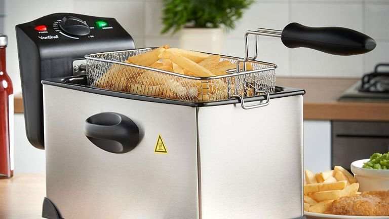 The best deep fat fryers: VonShef 3 Litre Stainless Steel Deep Fat Fryer