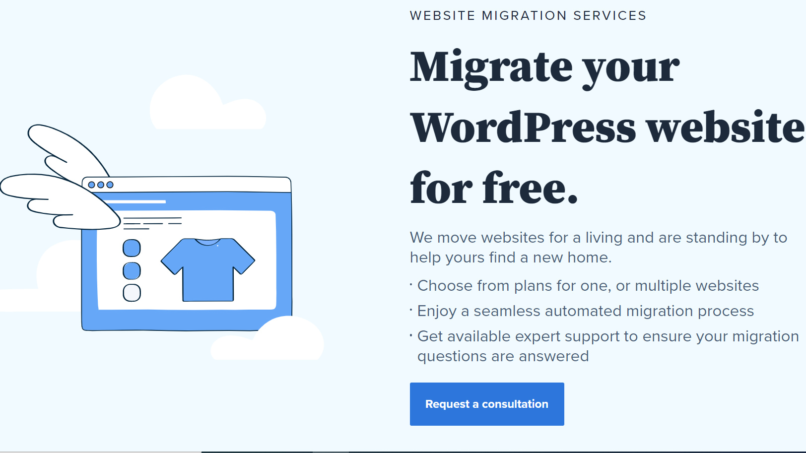 WordPress migration free
