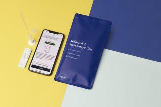 Kroger Health COVID-19 smartphone test kit