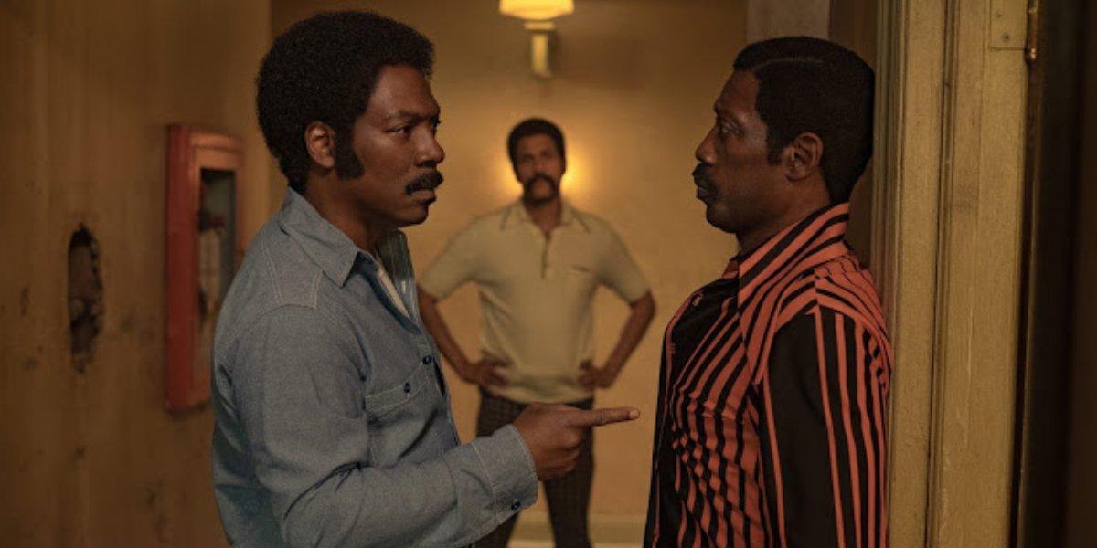 Eddie Murphy, Keegan-Michael Key, and Wesley Snipes in Dolemite Is My Name