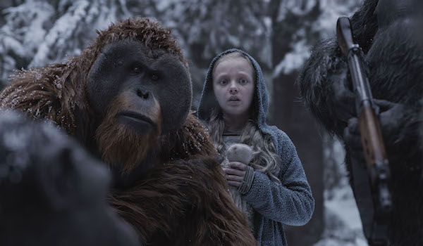 War for the Planet of the Apes Nova and Maurice