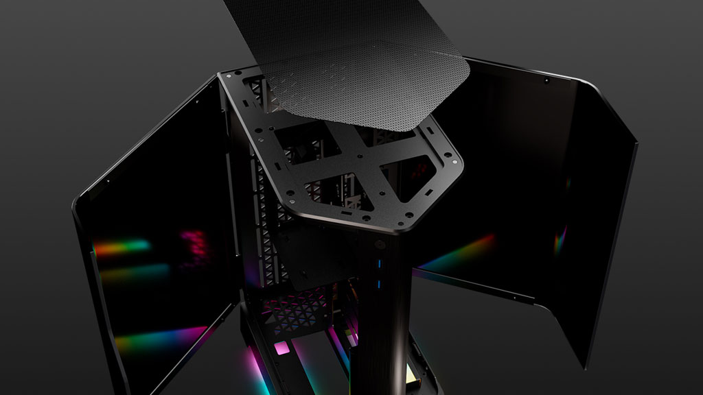 G.Skill Z5i's Magnetic Mesh Dust Filter