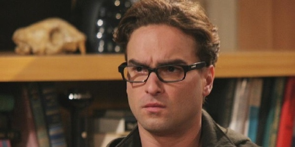 Johnny Galecki stern on The Big Bang Theory