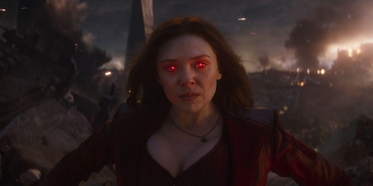 Wanda in Avengers Endgame