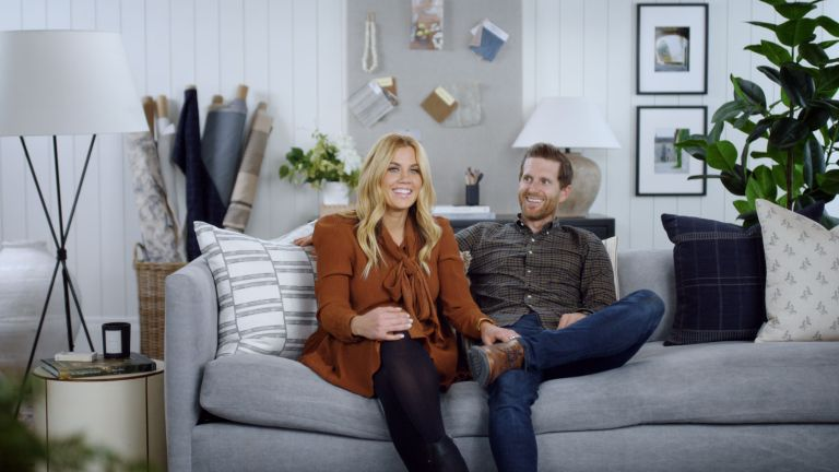 Shea and Syd McGee in a still from Dream Home Makeover