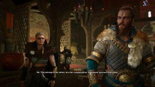 Assassin's Creed Valhalla cargo decision