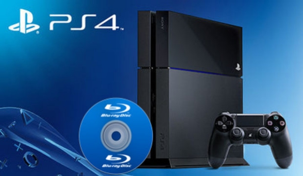PS4 Blu-ray