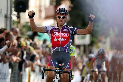 Philippe Gilbert wins, Coppa Sabatini 2009