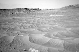 Curiosity at 'Pahrump Hills' on Mars