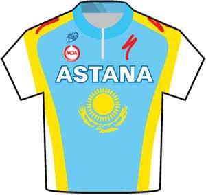 Astana jersey Tour de France 2010