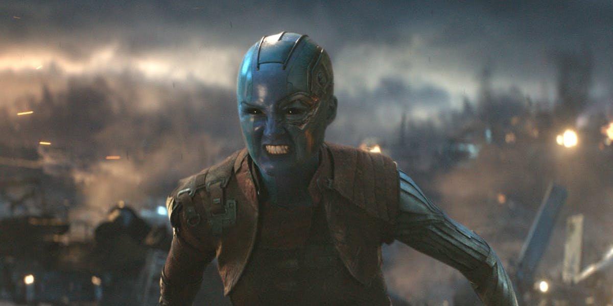 Karen Gillam as Nebula in Avengers: Endgame
