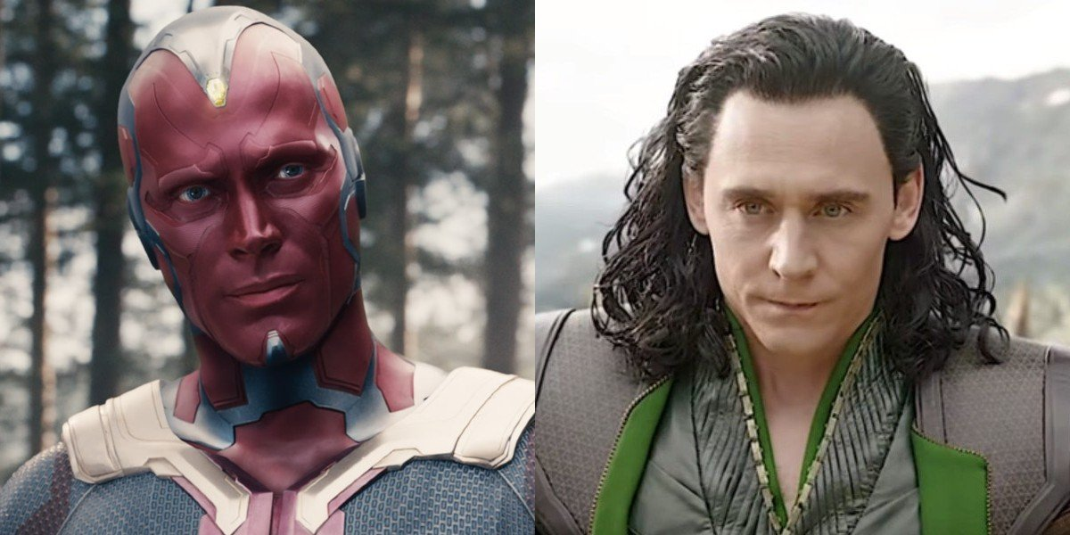 Loki's Tom Hiddleston Hilariously Calls Out WandaVision's Paul Bettany For Vision Being A Copycat