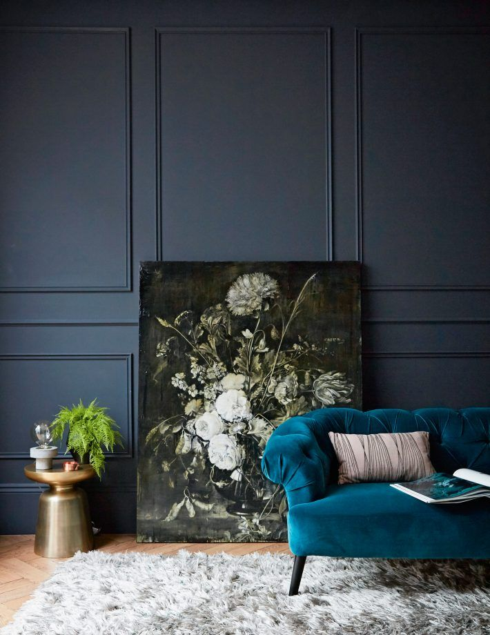 dark living room ideas. Explore more modern living room ideas Moody And Dramatic Dark Blue Living Room Ideas and Paint Inspiration