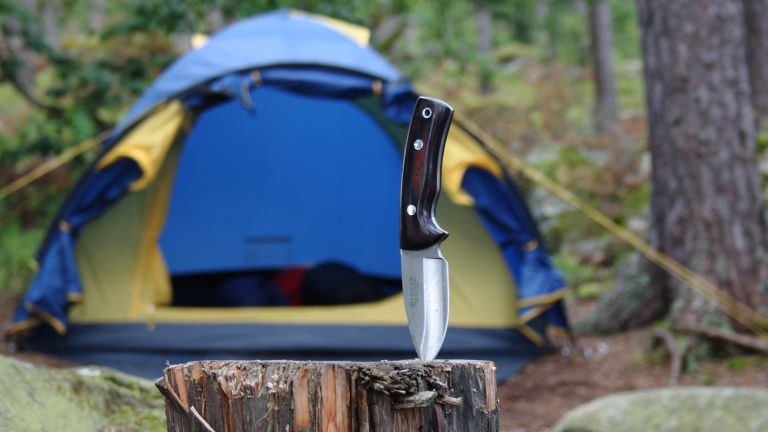 Best camping knives round-up of multi-coloured mini blades for camping