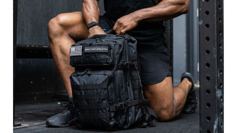 Built for Athletes Hero backpack gym bag