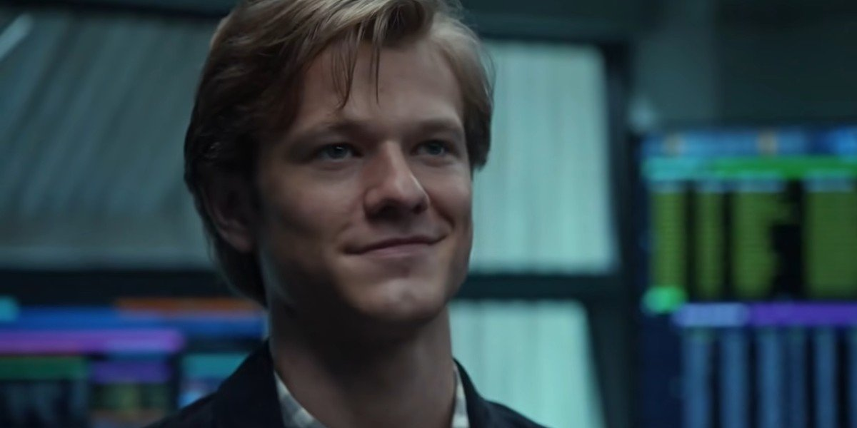 """Lucas Till as """"Mac"""" MacGyver in the final moments of MacGyver"""