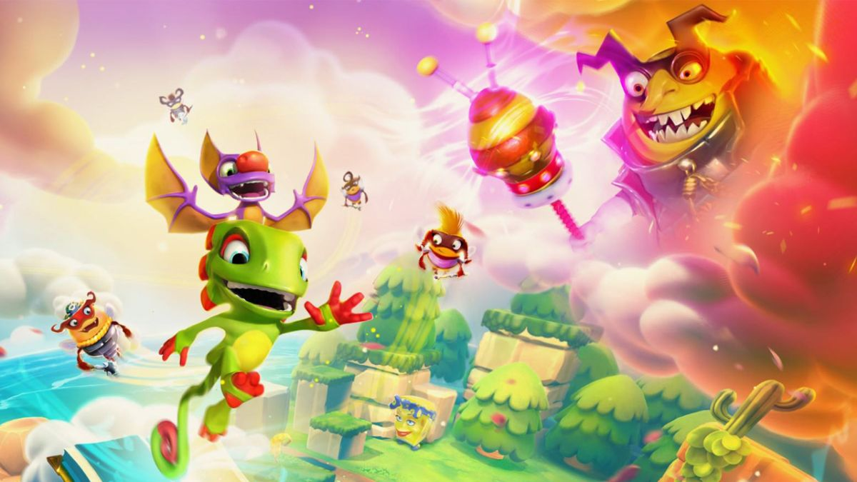Yooka-Laylee and the Impossible Lair is a sequel for all you side-scrolling lovers