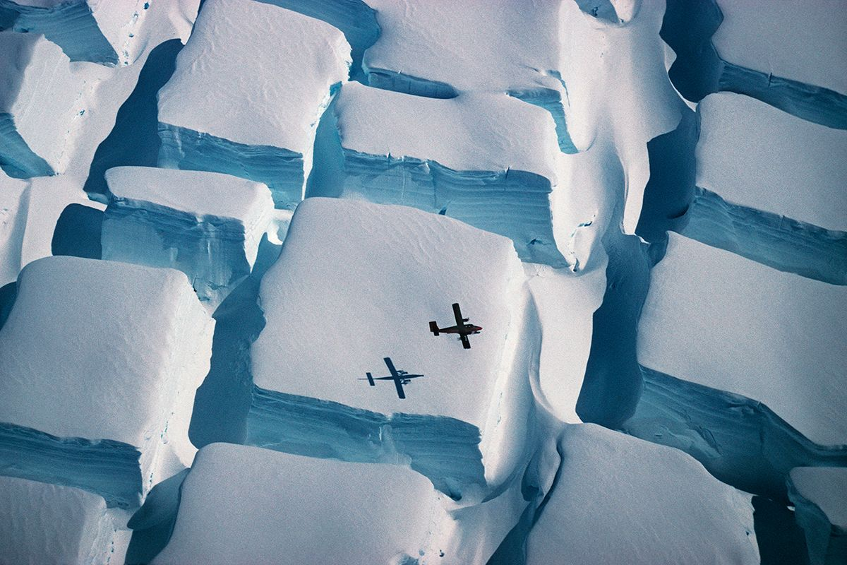 What Force Created These Bizarre Cubes in Antarctica's Ice?