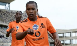 Azola Tshobeni of Orlando Pirates