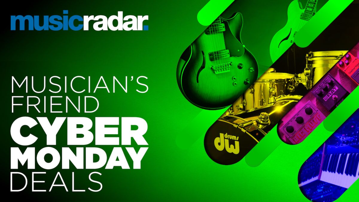 Musician's Friend Cyber Monday 2020: All the best deals and savings on guitars, recording gear and drums