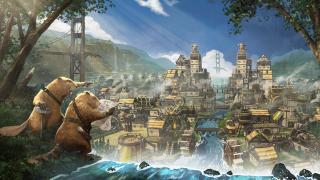 Beaver city builder Timberborn