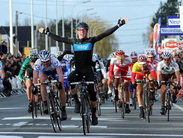 Chris Sutton wins Kuurne-Brussels-Kuurne 2011