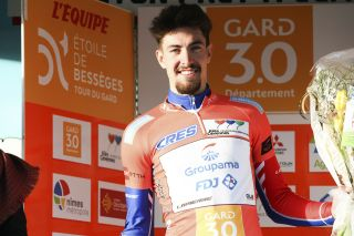 Alexys Brunel (Groupama-FDJ) won the opening stage in Etoile de Besseges