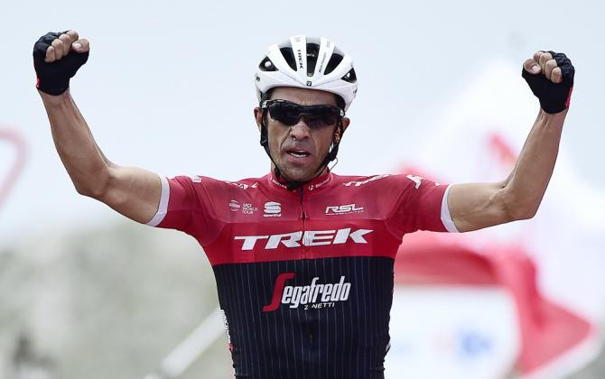 Alberto Contador wins stage 20 at the Vuelta a Espana