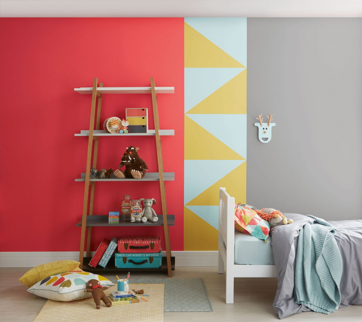 Colorful Kids Rooms: Paint Colour Schemes For Kids' Bedrooms: 15 Bright Ideas