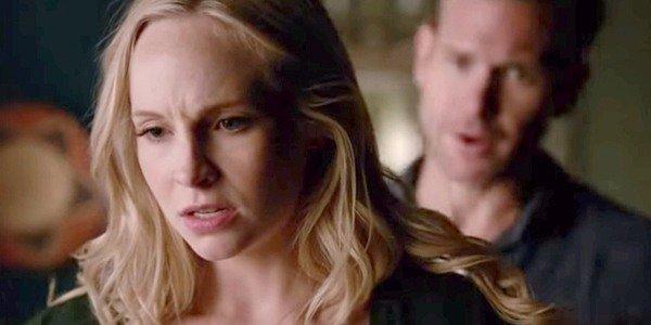 The Vampire Diaries Caroline Alaric Candice King Matt Davis The CW