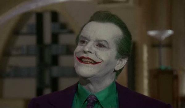 Jack Nicholson Joker Tim Burton Batman